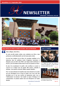 Lydex Newsletter N°1